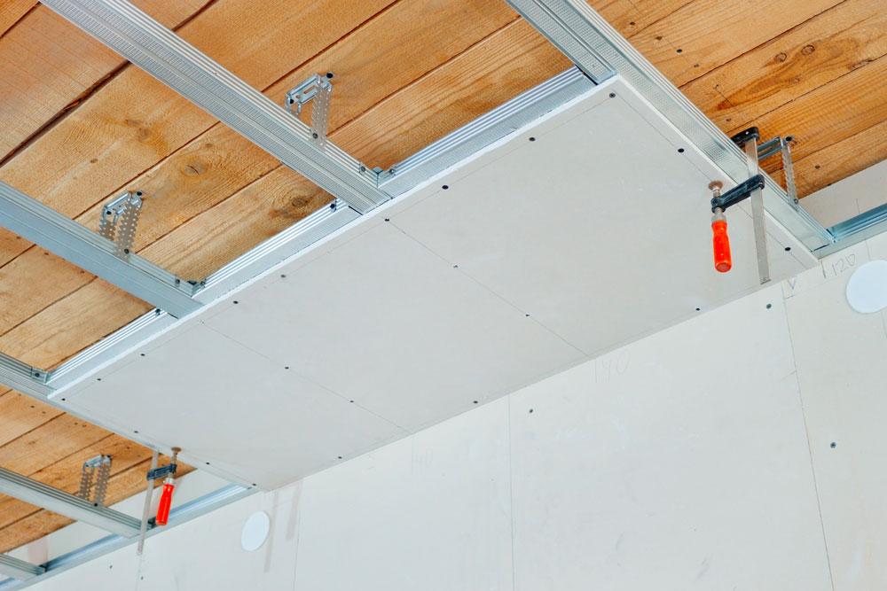 isolation plafond suspendu