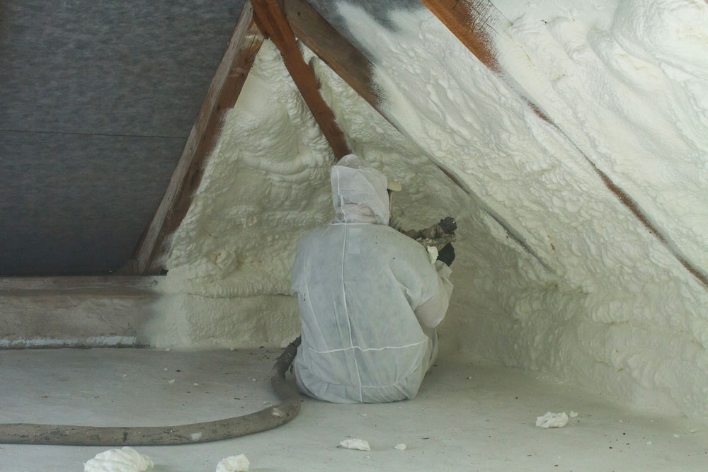 isolation toiture par interieur polyuréthane