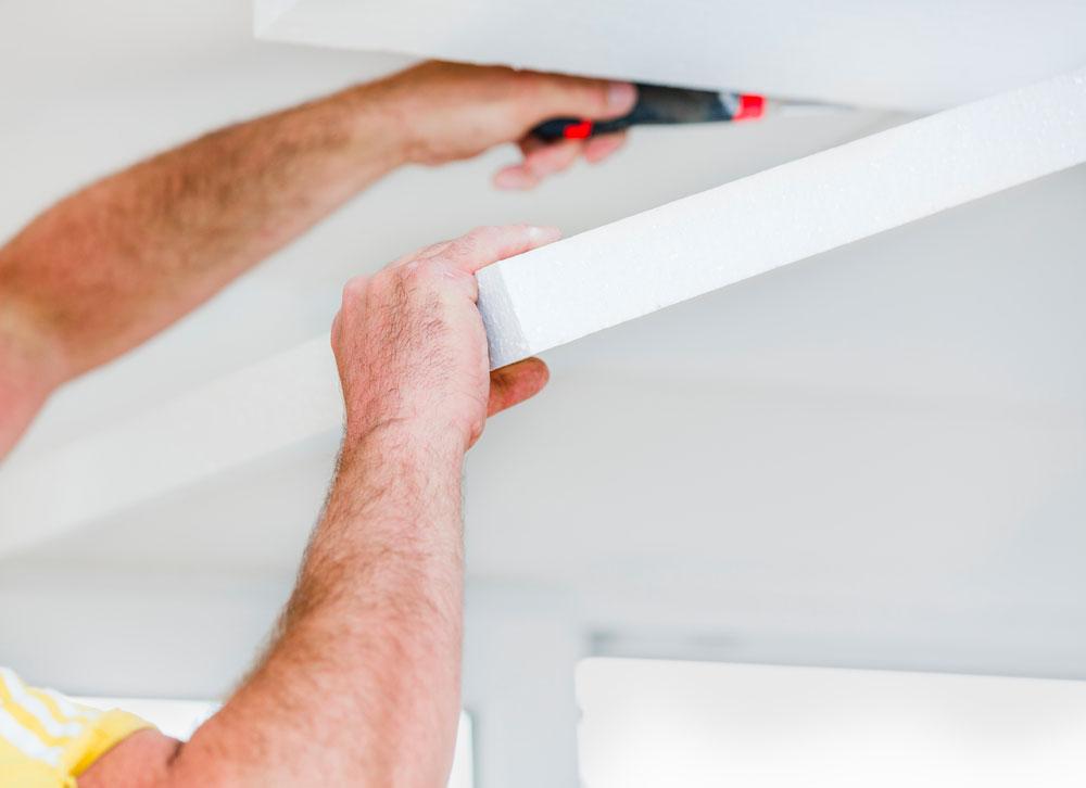 plaque isolante plafond